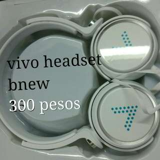 Bnew headset never been used