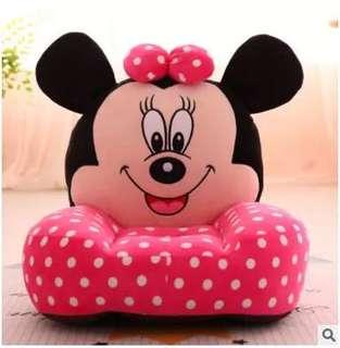 [PO] Kids Cute Mini Sofa - Minnie Mouse Pink Polka Dots