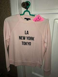 ‼️Forever 21 Baby Pink Sweater ♥️