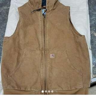 Carhartt vest hoodies(帆布面)