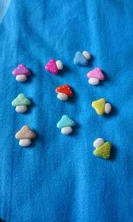 Cute Mini Mushrooms Magnets
