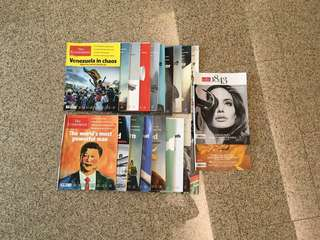 26 The Economist + 2 FREE 1843 magazines
