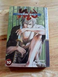 Samurai Deeper Kyo volume 10