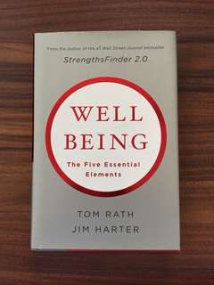 Self help books - Well Being The Five Essential Elements