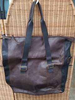 Leather Men's Bag