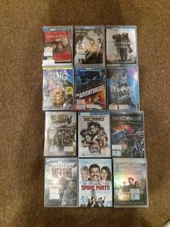 Today special!! Any 3 dvd for $43
