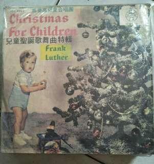 兒童聖誕歌舞曲特輯黑膠唱片