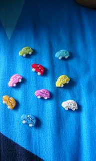 Cute Mini Cars Magnets