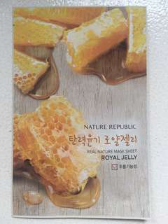 Masker Royal Jelly Nature Republic