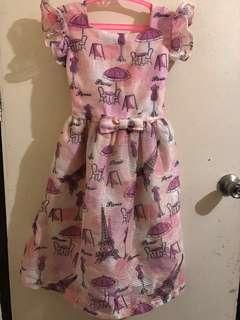 Little Miss Pink Dress