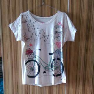 Girl Lace Shirt