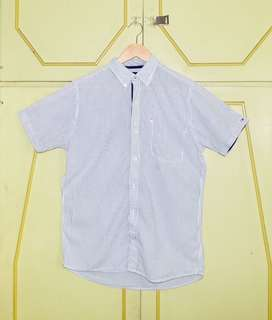 Authentic Tommy Hilfiger Striped Button Down