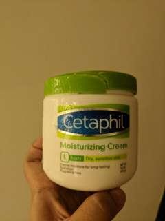 Cetaphil moisturising cream 453gr