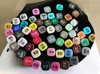 58顏色雙頭 Marker筆