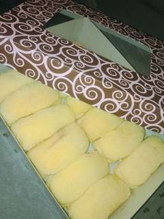 Freshly Home Baked Cheese Rolls (Box of 12 & Box of 10)