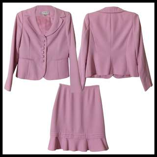Baby Pink Office Suit/Terno