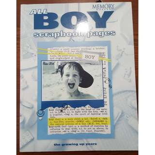 All Boy Scrapbook Pages