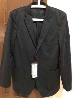 Brand NEW: Uniqlo Men's Comfort Jacket (Navy Blue Size S)