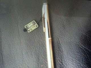 22 K gold parker ball pen- worldwide guarantee
