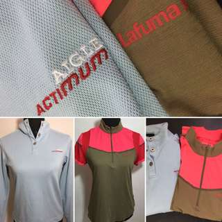 Lafuma drifit and Aigle long sleeves baselayer bundle