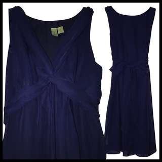 Semi-Formal Midnight Blue Dress