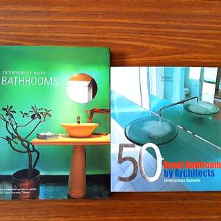 2 for $15: Contemporary Asian Bathrooms; 50+ Great Bathrooms by Architects
