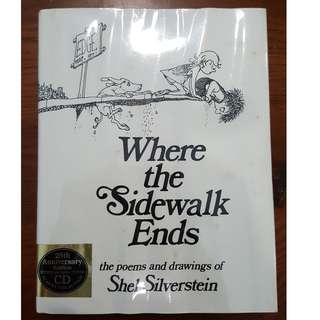 Shel Silverstein - Where the Sidewalk Ends (CD included)