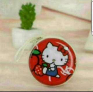 Instock Hello Kitty Coin Pouch Earphone Hard Case 7cm