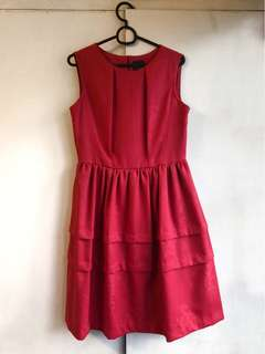 50's A-Line Couture Dress