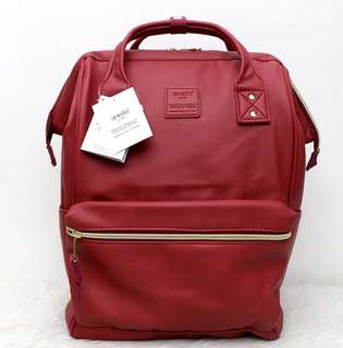 Brandnew Anello Leather Backpacks