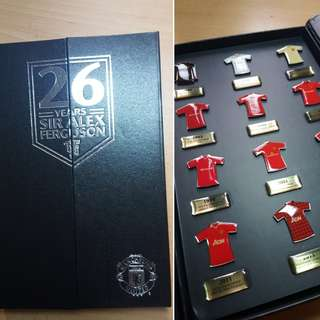 Manchester United Sir Alex Ferguson Pin Badge 26 Years of Glory Limited Edition