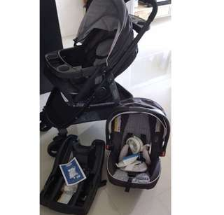 Graco Modes Select Travel System 3 in 1 Stroller