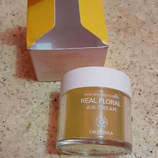 Real Flower Calendula Air Cream
