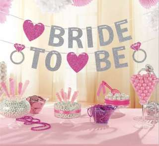 Party Banners - BRIDE TO BE