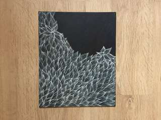 Canvas art - freehand