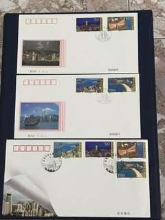 China Stamp- 1995-25 A/B FDC