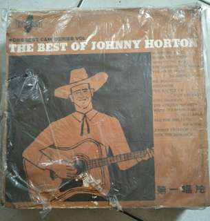 THE BEST OF JOHNNY HORTON黑膠唱片