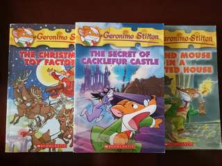 Geronimo Stilton Books (Preloved)
