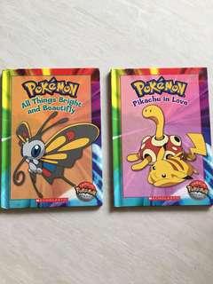 2 set of book Pokémon