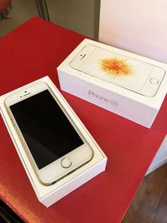 Apple iphone SE in Gold