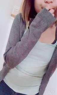 H&m grey cardigan