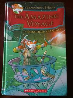 Geronimo Stilton: The Amazing Voyage (Preloved)