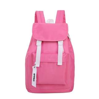 Korean fashion canvas ladies backpack
