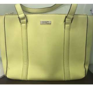 ✅REPRICED✅ Kate Spade Cadene Newbury Lane, used, just needs cleaning( with small ballpen stain that can easily be erase)With price tag @ $ 325.00.  Now only P3,000  plus SF