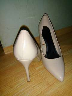 PARISIAN SHOES NUDE 4 INCHES HEELS