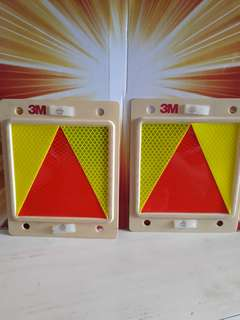 Triangle plate for new drivers