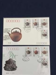 China Stamp-1994-5 A/B FDC