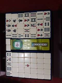 Authentic Mahjong tiles from Japan
