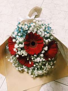Gerbera bouquet/Graduation bouquet/ anniversary bouquet/Flower bouquet