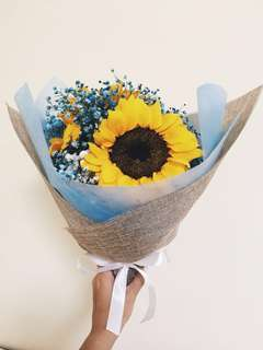 Flower bouquet/sunflower bouquet/graduation bouquet/anniversary bouquet